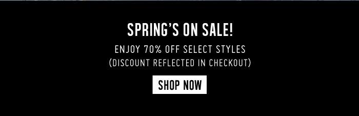 Marc Jacobs | Spring Sale