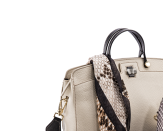 The must have tote of the moment is in Elegant and charming in simple leather,
