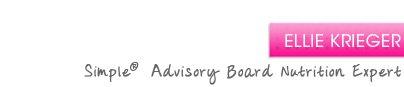 Ellie Krieger - Simple® Advisory Board Nutrition Expert