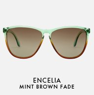 Mint Brown Fade
