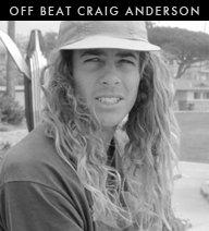 Off Beat Craig Anderson
