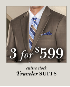 All Traveler Suits - 3 for $599
