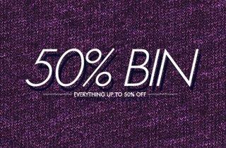 50% Bin