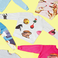 Limited Edition Sweaters by MSGM and Maurizio Cattelan