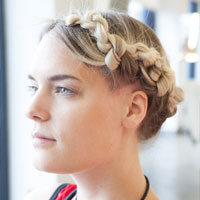 Hairstyle File: Feeling Knotty with Bumble and bumble.