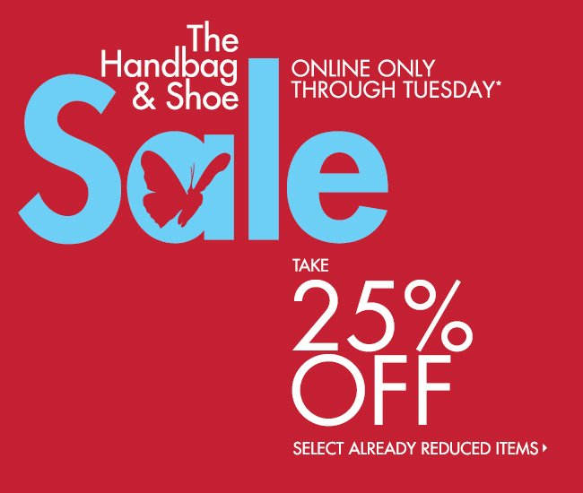 The Handbag & Shoe Sale