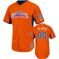 National League Jersey: Any Player Orange 2013 All-Star Game Authentic Cool Base™ Batting Practice Jersey