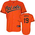 Chris Davis Baltimore Orioles Jersey: Alternate Orange Replica Jersey