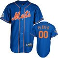 New York Mets Jersey: Any Player Alternate Home Royal Blue Replica MLB Jersey with 2013 All-Star Game Patch