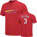 Carlos Beltran Majestic Name and Number St. Louis Cardinals T-Shirt