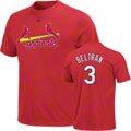 Carlos Beltran Majestic Name and Number St. Louis Cardinals T-Shirt