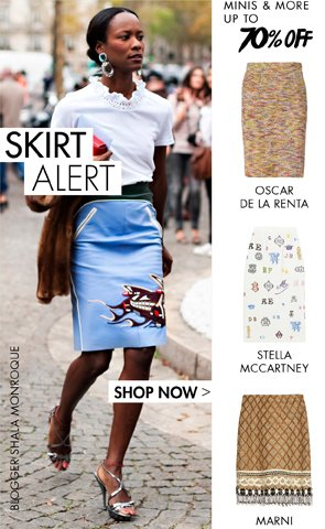 SKIRT ALERT - UP TO 70% OFF