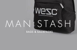 Man Stash: Bags & Backpacks