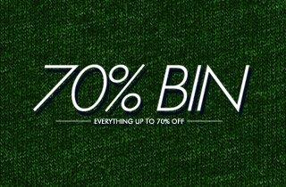 70% Bin