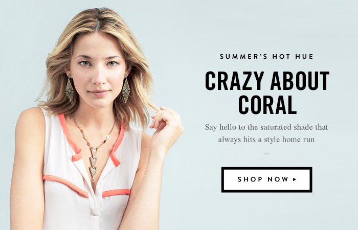 Summer's Hot Hue - Crazy About Coral