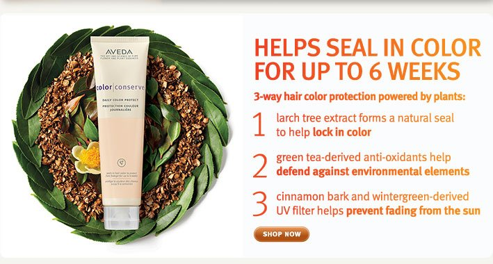 helps seal in color for up to 6 weeks. shop now.