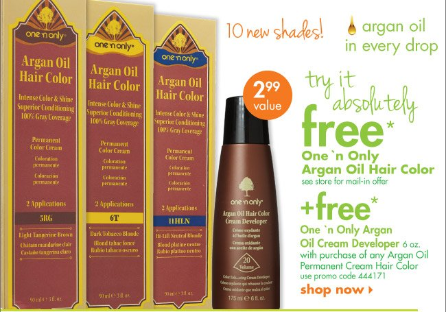Creme Of Nature Argan Oil Hair Dye
