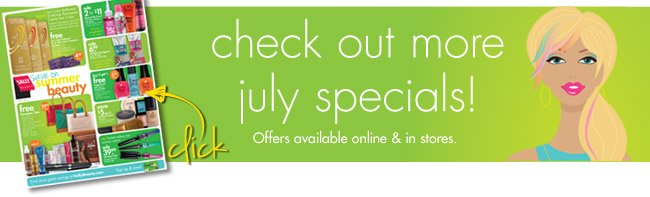 check out more july specials!