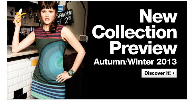 New Collection Preview Autumn/Winter 2013