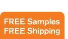 FREE samples FREE shipping