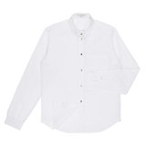 White Multi-Coloured Button Shirt