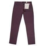 Damson Tapered-Fit Chinos