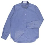 Sky Blue Tessellation Jacquard Shirt