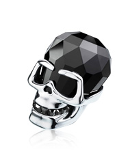 Soulmates N The Skull Jet Hematite large