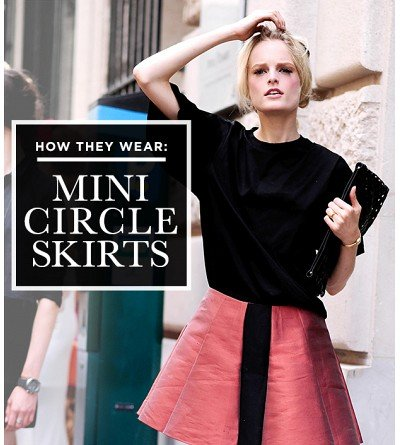 The Figure-Flattering Skirt Everyone In Fashion Adores
