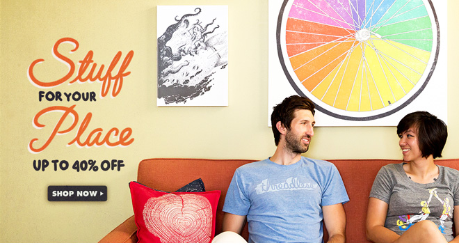 Stuff for your Place - Up to 40% off