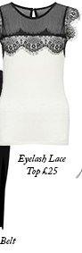 Eyelash Lace Top