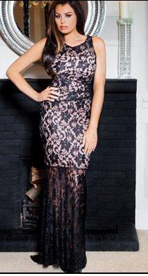 Jessica Wright Alix Maxi Dress