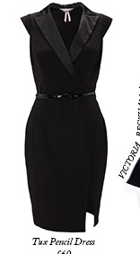 Tux Pencil Dress