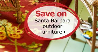 Save on Santa Barbara outdoor furniture