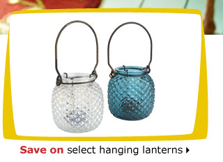 Save on select hanging lanterns