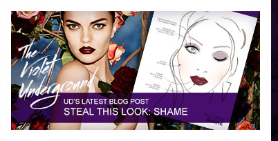 UD's Latest Blog Post - Steal This Look: Shame