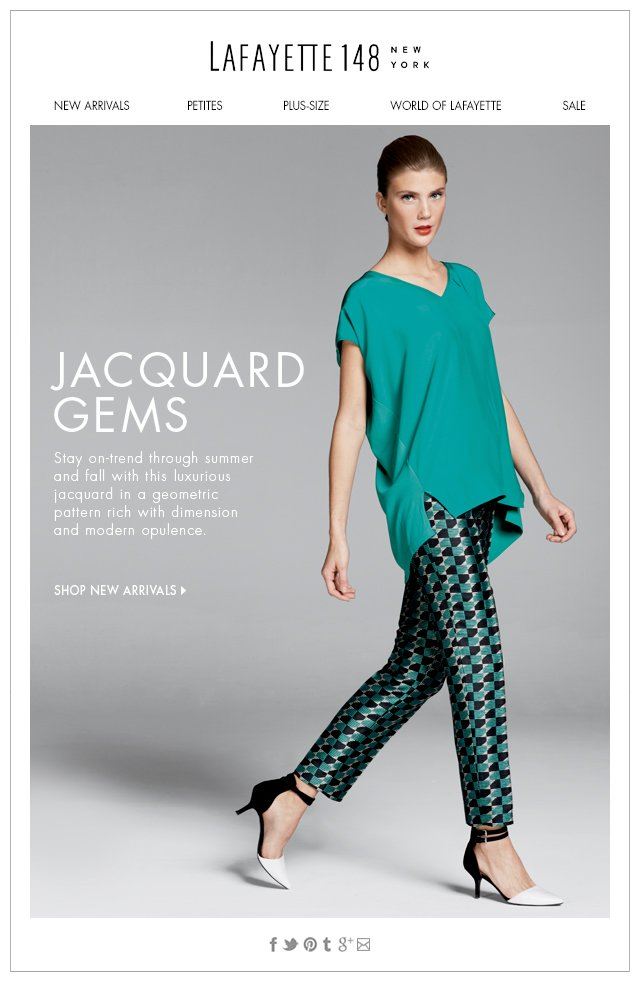 New and Now: Jacquard Gems