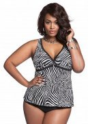 Web Exclusive: Zebra Print Tankini