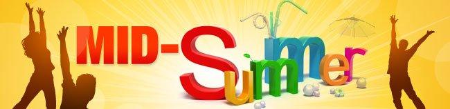 MID-SUMMER SAVINGS