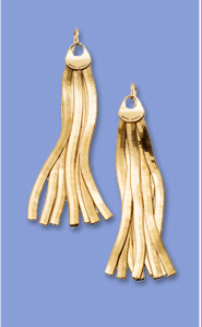 LEXINGTON AVE FRINGE EARRING