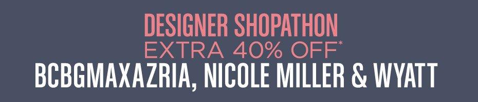 Designer Shopathon