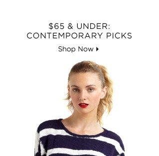 $65 & Under: Contemporary Picks