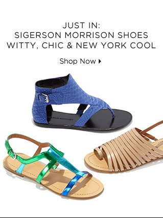 Just In: Sigerson Morrison Shoes