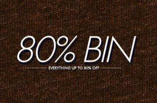 80% Bin