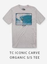 TC ICONIC CARVE ORGANIC S/S TE