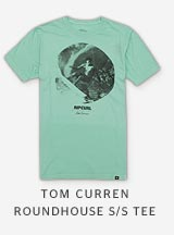 TOM CURREN ROUNDHOUSE S/S TEE