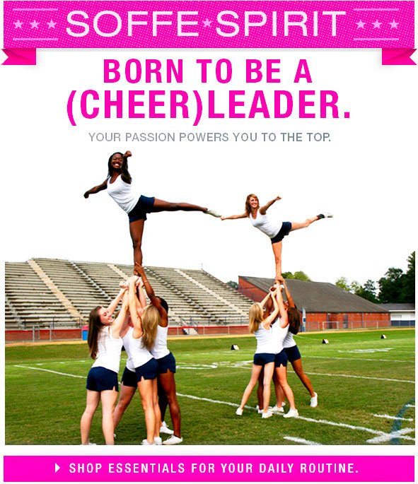 Born to be a Cheerleader! Shop essentials for your daily routine!