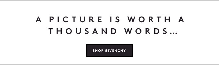 Make a statement in Givenchy graphic tees, sweatshirts and more.