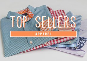 Shop Top Sellers: Apparel from $12