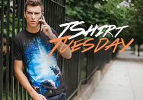Shop T-Shirt Tuesday ft. Design by Humans